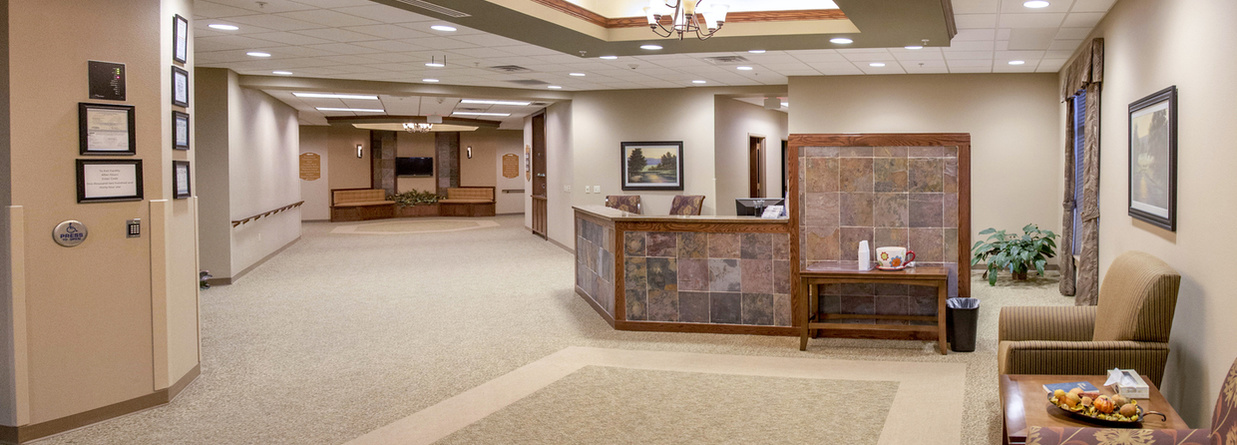 Hegg Memorial Health Center Lobby
