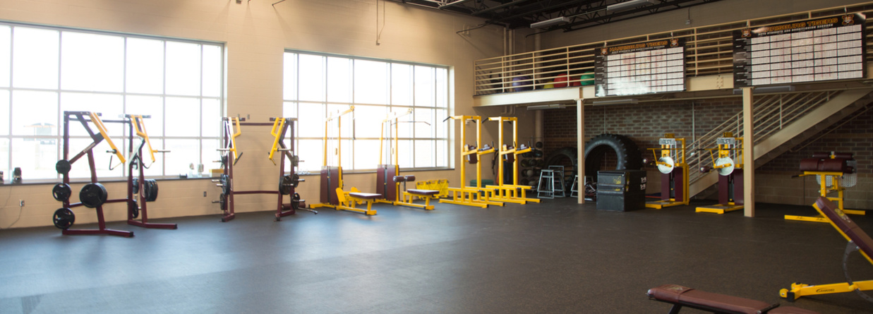 Harrisburg High School Weight Room